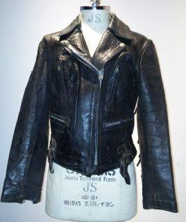 70's KETT Fringe Riders Leather Jacket