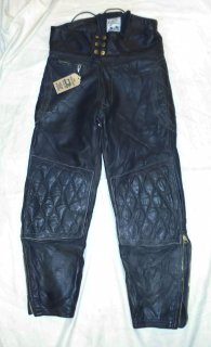 70's Langlitz Leathers Motorcycle Leather Pants