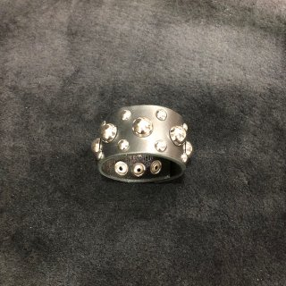Studs Leather wristband