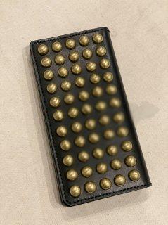 NEON Leather Garment Tracker Studs Wallet