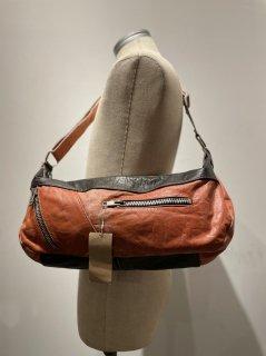 Leather Riders Remake Bag (Orange)