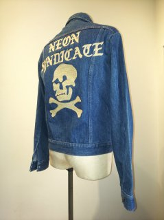 NEON Syndicate Embroidery Denim Jacket (J.C Penny)
