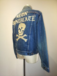 NEON Syndicate Embroidery Denim Jacket