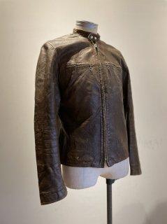 60's Harley Davidson Single Riders Leather Jacket