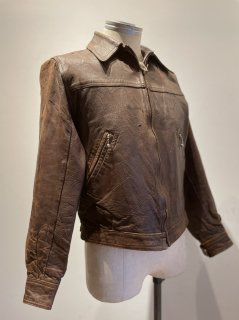 60's MADE IN ENGLAND Leather Sport Jacket