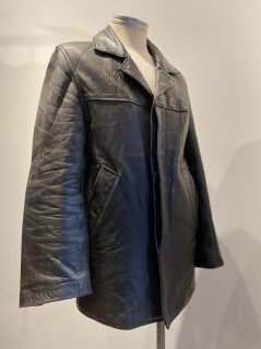 50's~60's French GICASPORT leather coat