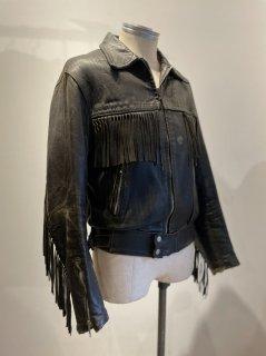 70's Danpark Fringe Riders Leather Jacket