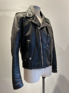 50's Harley Davidson Riders Leather Jacket CYCLECHAMP