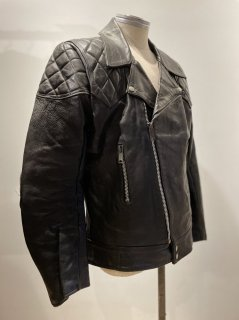 80's TT LEATHERS Patted Riders Jacket