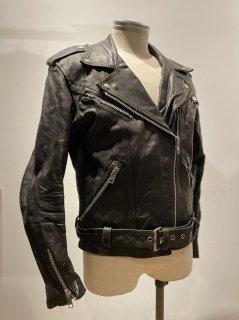 80's Ladies Double Leather Jacket
