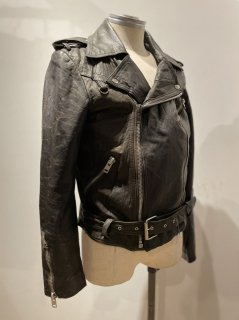 80's double riders jacket DESTRUC-JACKET