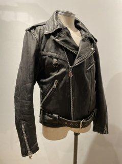 German Hein gericke Double Leather Jacket DESTRUC-JACKET