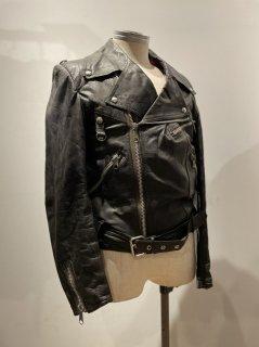 Golden leaf double riders jacket DESTRUC-JACKET