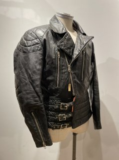 German Happy Rider Double Leather Jacket