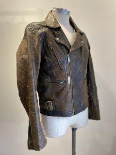 80's Brown riders jacket