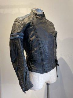 80's MORKE 2Tone Leather Jacket MONZA Type