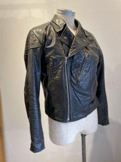 German Double Leather Jacket