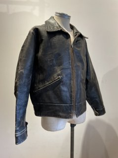 MADE IN ENGLAND Leather Sport Jacket