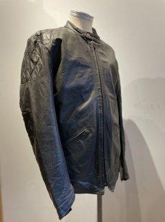 DAMEN LEATHERS Padded Single Leather Jacket