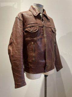 70's Apparel Annex Tracker Leather Jacket
