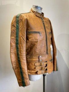70's HARRO Single Leather Jacket