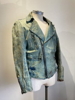 60's KETT Back side belt Riders Leather Jacket