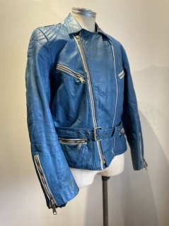 German Padded Double Leather Jacket