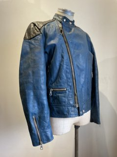 70's HARRO 2Tone Leather Jacket MONZA Type