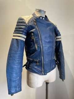French MOTO CUIR 2Tone Leather Jacket MONZA Type