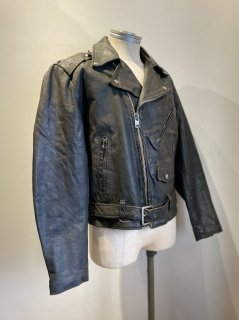 70's Sears Roebuck Double Riders Leather Jacket