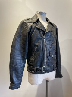 70's Double Riders Leather Jacket