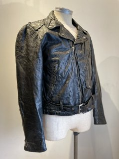 70~80's Double Riders Leather Jacket
