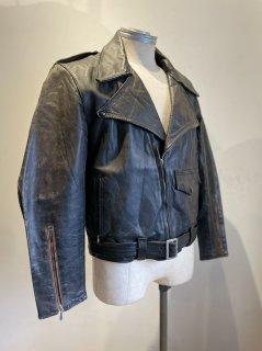 70's ALASKA LEATHER GARMENT Double Leather Jacket