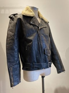 50~60's  Country Life Clothing Leather Jacket