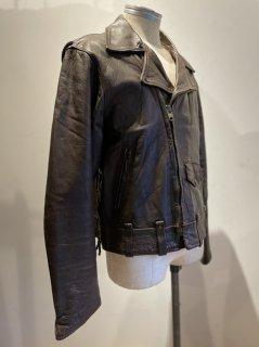 Berman's Side lace Double Leather Jacket