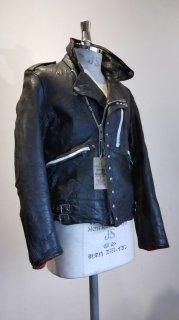"NEON CUSTOM EDITION Leather Jacket ""BONE UP BONES"""
