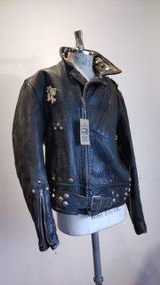 "NEON CUSTOM EDITION Leather Jacket ""SPADE"""