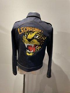 Motorcycle jacket 'MC'  LEOPARDMAN