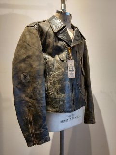 40's HERCULES D pocket Lether Riders Jacket