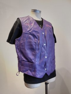 <img class='new_mark_img1' src='https://img.shop-pro.jp/img/new/icons1.gif' style='border:none;display:inline;margin:0px;padding:0px;width:auto;' />Hill side Ladies Leather Vest