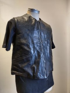 <img class='new_mark_img1' src='https://img.shop-pro.jp/img/new/icons1.gif' style='border:none;display:inline;margin:0px;padding:0px;width:auto;' />60~70's Wellco Leather Vest