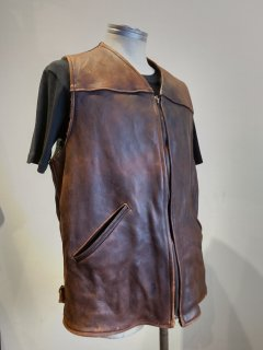 <img class='new_mark_img1' src='https://img.shop-pro.jp/img/new/icons1.gif' style='border:none;display:inline;margin:0px;padding:0px;width:auto;' />UBER Deerskin Leather Vest