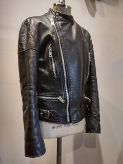 <img class='new_mark_img1' src='https://img.shop-pro.jp/img/new/icons1.gif' style='border:none;display:inline;margin:0px;padding:0px;width:auto;' />70's Wolf Leathers Riders Jacket MONZA Type