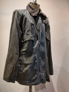<img class='new_mark_img1' src='https://img.shop-pro.jp/img/new/icons1.gif' style='border:none;display:inline;margin:0px;padding:0px;width:auto;' />80's Barbour BEDALE 4Flap No.6
