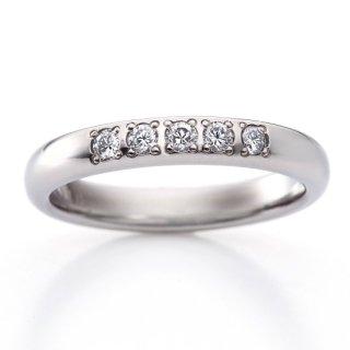ロイヤルマリッジリング(RME500FTR)チタン結婚指輪 ダイヤ0.15ct 女性用リング