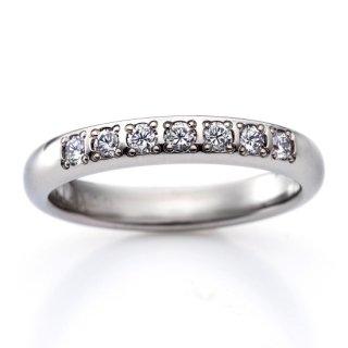 ロイヤルマリッジリング(RME700FTR)チタン結婚指輪 ダイヤ0.21ct 女性用リング