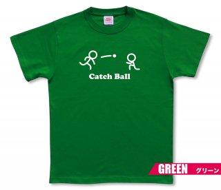 キャッチ棒人間 Tシャツ
