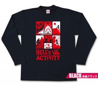 地獄遊び 長袖Tシャツ