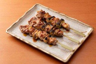 地鶏もも串(タレ)