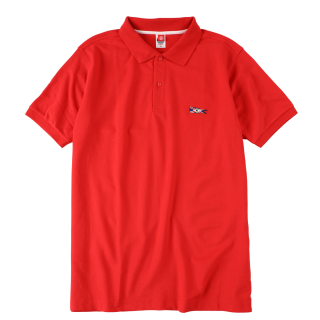 Classic UK Flag Polo_Red